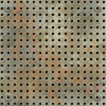 Green rusty metall mesh Royalty Free Stock Image