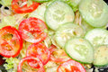 Green salad with mayonnaise paste Royalty Free Stock Photography