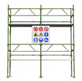 Green scaffold Stock Photography