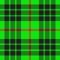 Green scottish pattern Stock Photo