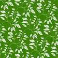 Green seamless background with vibrant leaves abstract elegance natural pattern leaf Royalty Free Stock Image