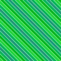 Green seamless diagonal stripe pattern background Royalty Free Stock Photo
