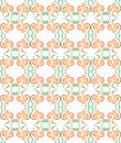 Green seamless pattern background with modern desi Royalty Free Stock Image
