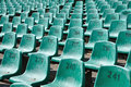 Green Seats Royalty Free Stock Photo