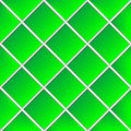 Green shadowed ceramic tiles Royalty Free Stock Photography