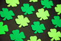 Green shamrocks Royalty Free Stock Photos