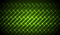 Green shiny neon stripes abstract pattern