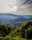 Green in sight great panorama view Royalty Free Stock Image