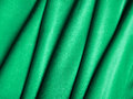 Green silk plaits of close up Stock Images