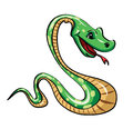 Green snake Royalty Free Stock Photo