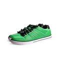 Green sneakers on white background Royalty Free Stock Photo