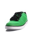 Green sneakers on white background Royalty Free Stock Images