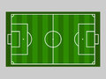Green soccer field ground line / Green football field ground line. Sport vector illustration. image, jpeg. eps10.