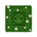 Green socket Royalty Free Stock Photo