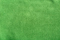 Green soft synthetic fleece background Stock Images