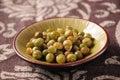 Green soya beans Royalty Free Stock Photo