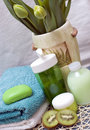Green spa Stock Images