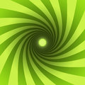Green spiral Royalty Free Stock Photo