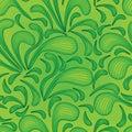 Green splash line seamless pattern Royalty Free Stock Photo