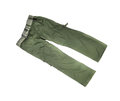 Green sport trousers Royalty Free Stock Photo