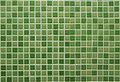 Green square tiles pattern Royalty Free Stock Photo