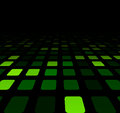 Green squares technology pattern Royalty Free Stock Photo