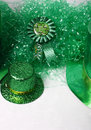 Green of St Patricks Day Stock Images