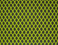 Green steel grid futuristic hole making an abstract pattern a close up shot of a Stock Photo