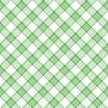 Green Stripe Plaid Stock Photography