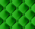 Green stylish fabric with knobs Stock Images