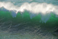Green Surf Stock Images