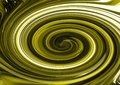 Green swirl chrome background wallpaper Royalty Free Stock Photo