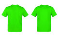 Green T-shirt Royalty Free Stock Photo