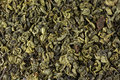 Green tea background pile of aromatic as Royalty Free Stock Photo