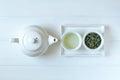 Green tea concept Royalty Free Stock Photo