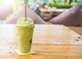 Green Tea Frappe And Blended