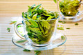 Green tea freshness Royalty Free Stock Photography