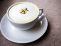 Green tea latte matcha Royalty Free Stock Photography