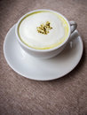 Green tea latte matcha Royalty Free Stock Photos
