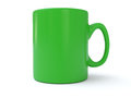 Green tea Mug Royalty Free Stock Photo