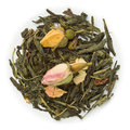 Green tea sencha spring sensation blend raw isolated on pure white Stock Photography