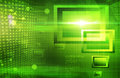 Green tech abstract background abstraction art backdrop Stock Photography