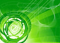 Green tech background Royalty Free Stock Photo