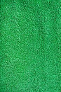 Green Terry Cloth Fabric Royalty Free Stock Images