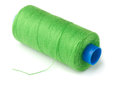 Green thread Royalty Free Stock Photo