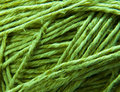 Green threads Stock Photo
