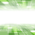 Green tile background template - perspective view Royalty Free Stock Photo