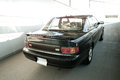 Green toyota camry classic japanese sedan Royalty Free Stock Photos