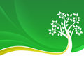 Green tree background Royalty Free Stock Photos