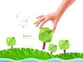 Green tree ecology